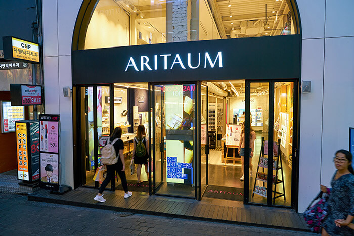 Aritaum shop