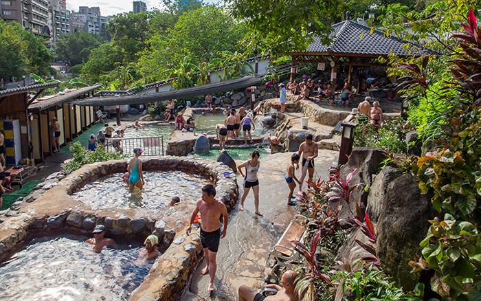 Beitou Hot Spring swimming pools