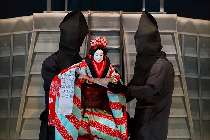 Bunraku puppet play