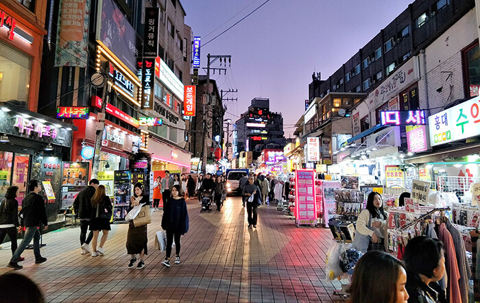 Dongdaemun Night Shopping