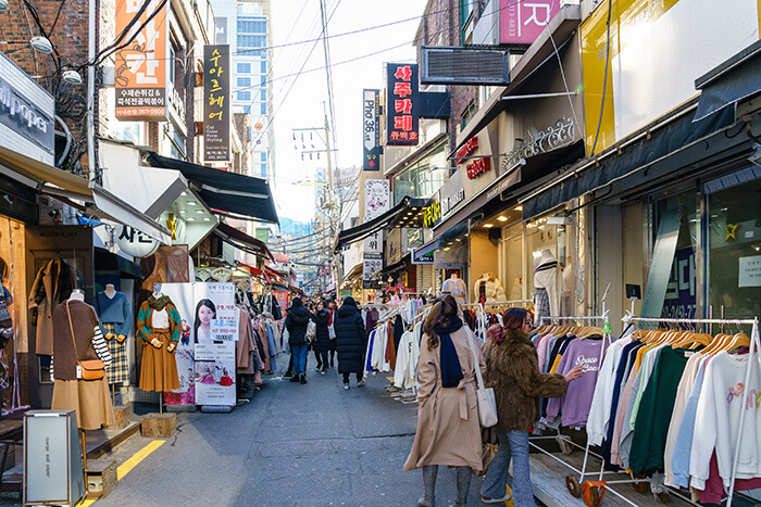 Ewha Women's University Shopping Street