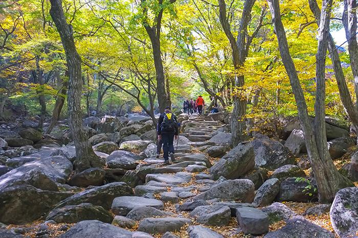 Geumjeongsan mountain in busan