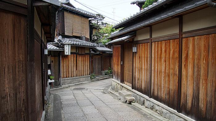 Ishibekoji in Kyoto