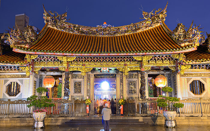 Mengjia Longshan Temple in Taipei