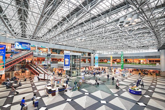 New Chitose Airport in hokkaido