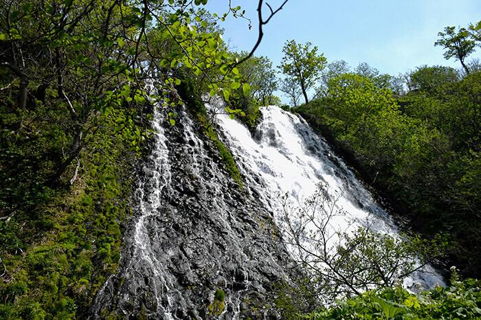 Oshinkoshin waterfall in Hokkaido
