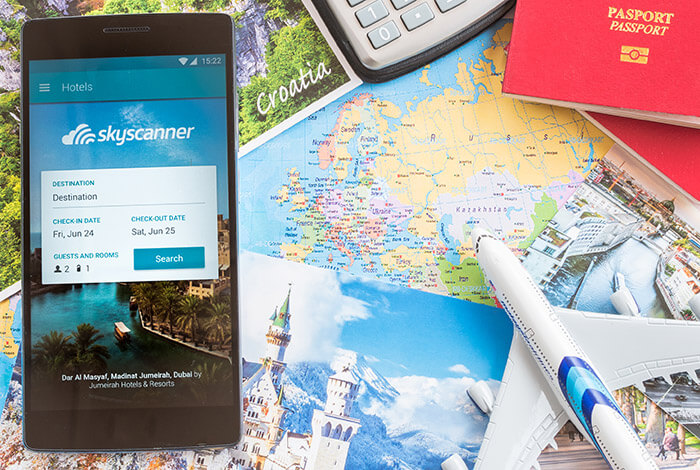 Skyscanner Flights app