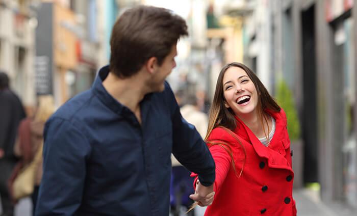 Spontaneous couple