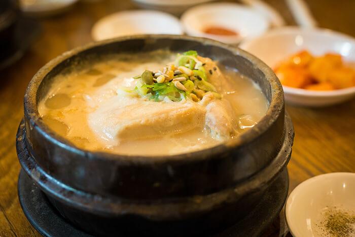 Tosokchon Samgyetang (Ginseng Chicken Soup)