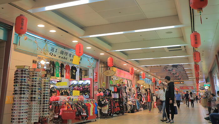 Underground Mall Taipei Main Station