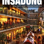 best things to do in Insadong