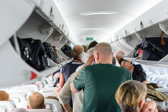 flight overbooked