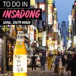 fun things to do in Insadong