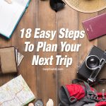 how to plan a trip or vacation