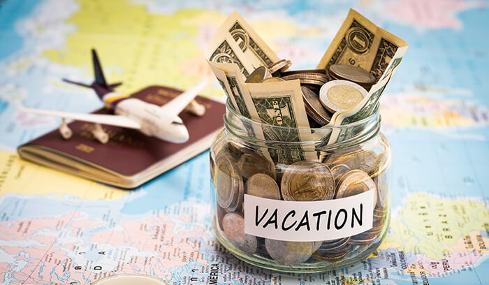 money for vacation