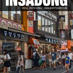places to visit in Insadong