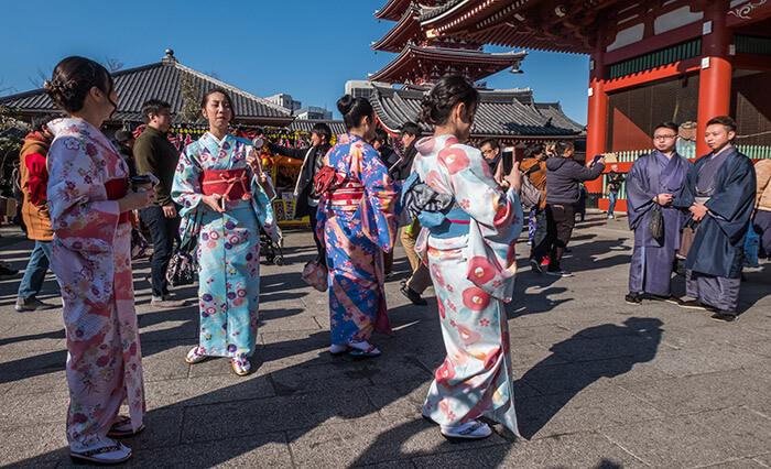 rented kimono