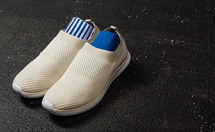 socks inside shoe