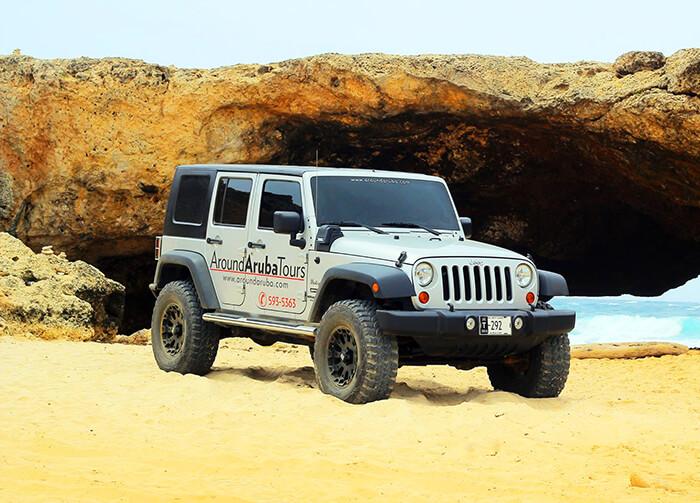 Around Aruba Tours Jeep
