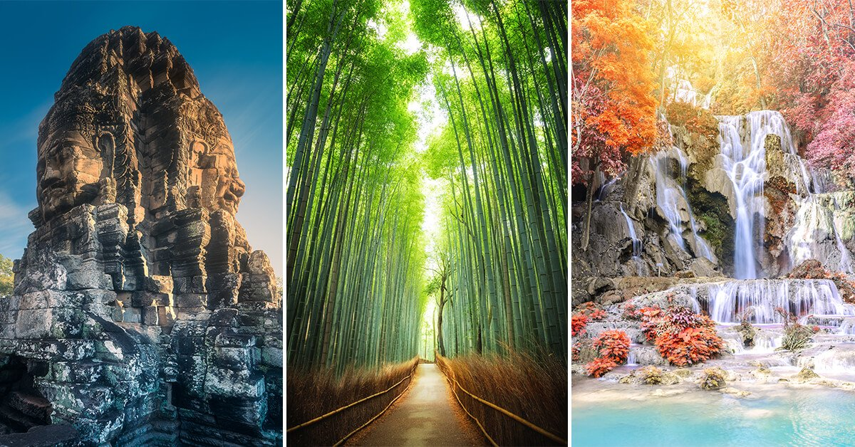 50 Best Vacation Spots & Places To Visit In The World