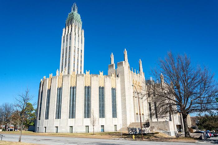 Boston Avenue United Methodist Church in Tulsa