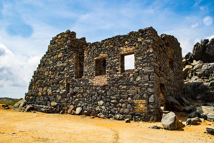 Bushiribana Gold Smelting Ruins, Aruba