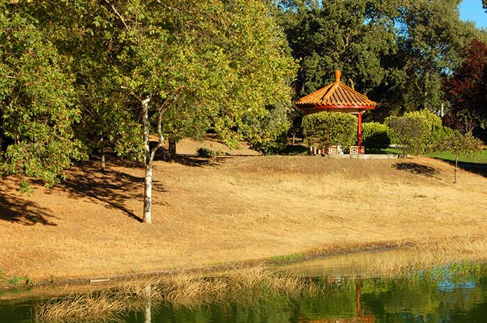 Chinese Cultural Garden; Overfelt Park