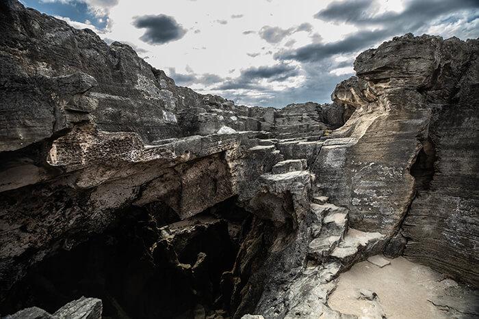Cueva del Indio Rock formation
