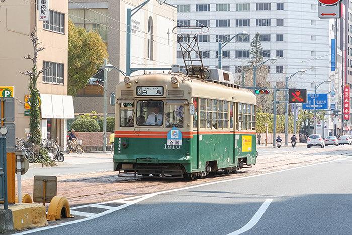 Hiroden streetcar