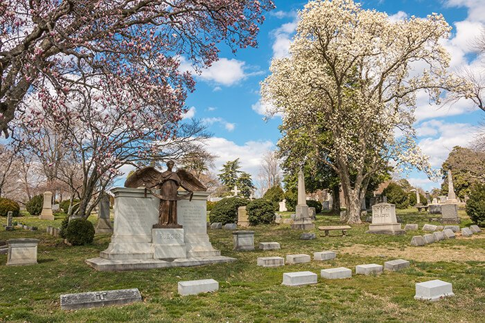 Hollywood Cemetery in Richmond