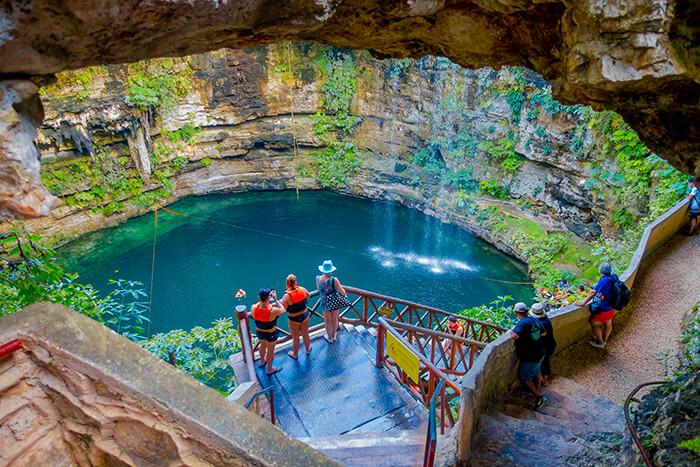 Ik Kil Cenote, Mexico