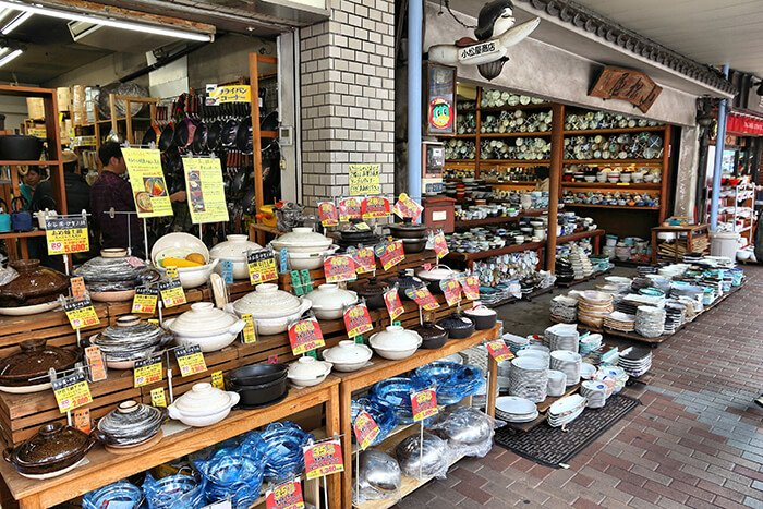 Kappabashi area of Asakusa in Tokyo