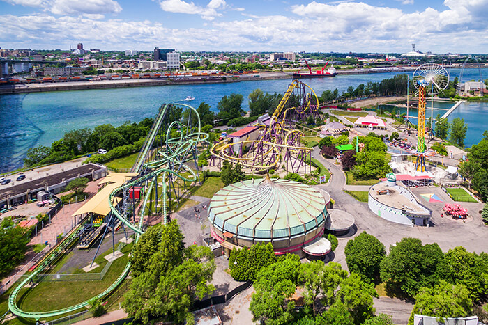 La Ronde Amusement Park in Montreal