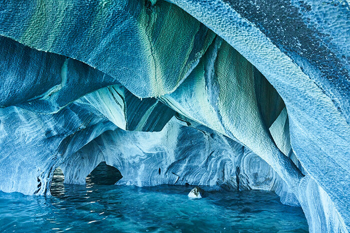 Marble Caves of Patagonia, Chile