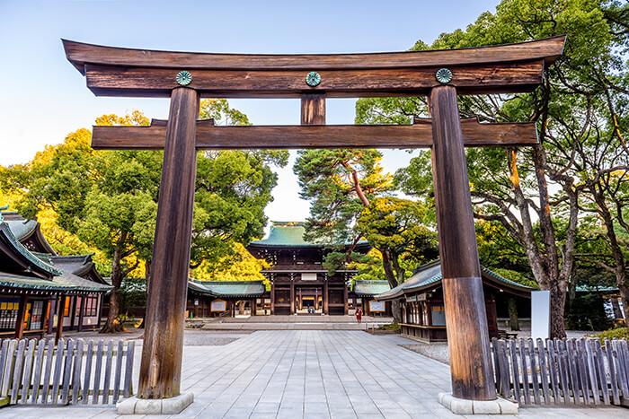 Meiji Jingu In Tokyo