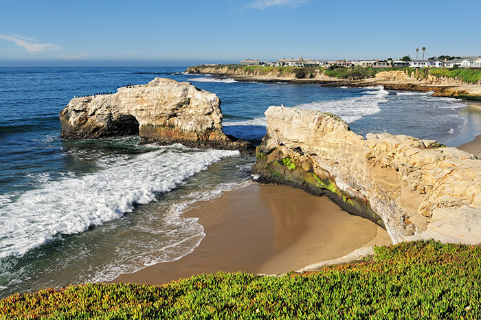Natural Bridges State Beach in Santa Cruz