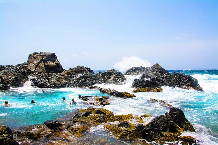 Natural Pool Santa Cruz Aruba