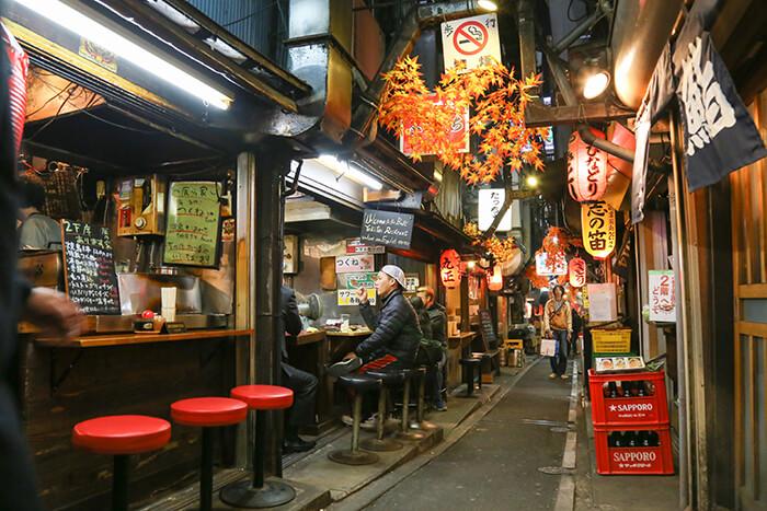 Omoide Yokocho Shinjuku Tokyo