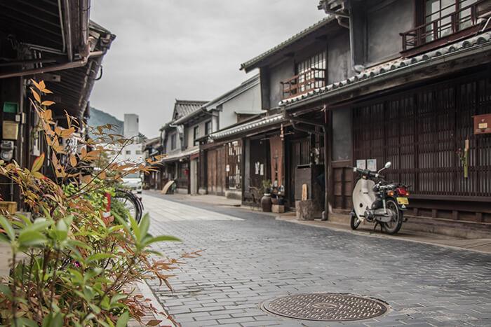 Preserved District Of Takehara