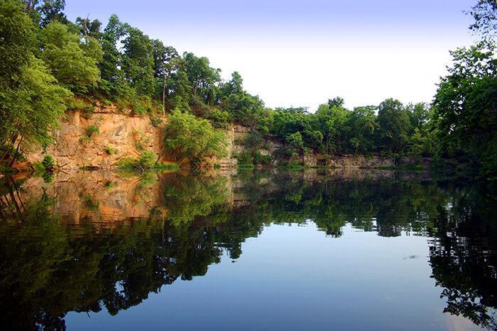 Richmond Belle Isle Quarry Lake