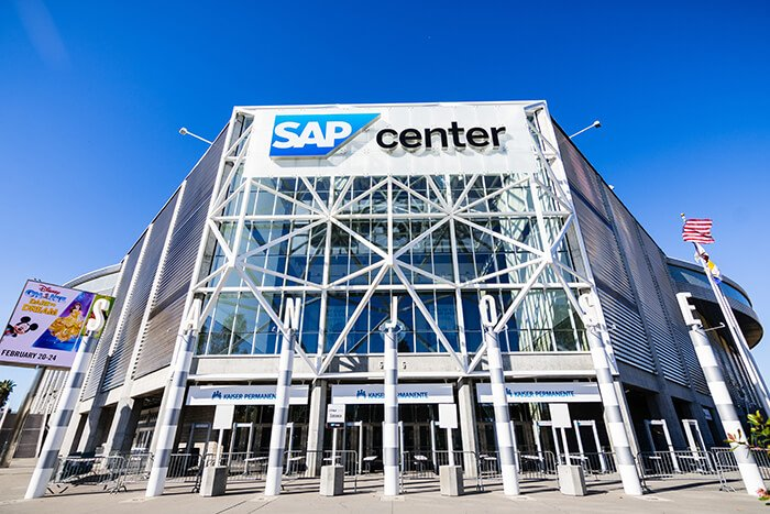 SAP Center building