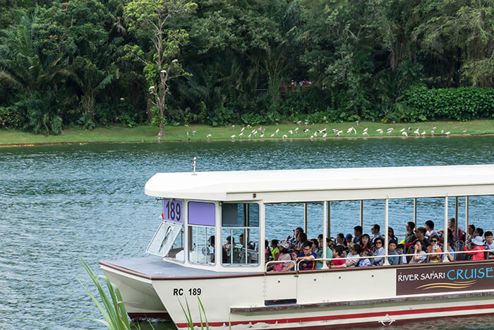 Singapore River Safari boat tour