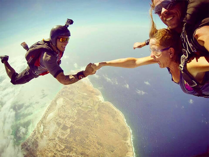 Skydive Aruba