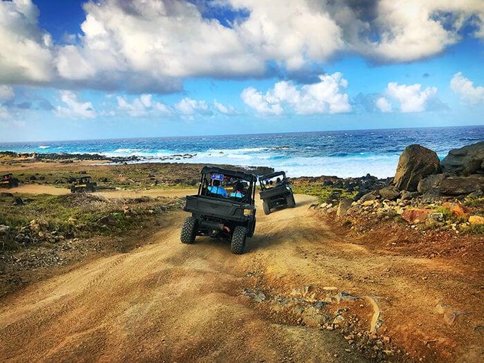 UTV excursion ride in Aruba