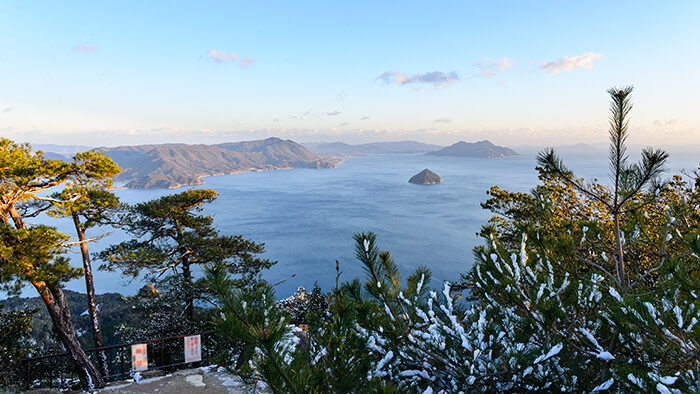 View From Mount Misen Summit