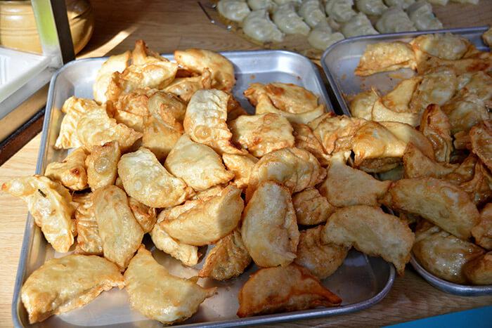 deep-fried dumplings
