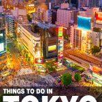 fun things to do in Tokyo