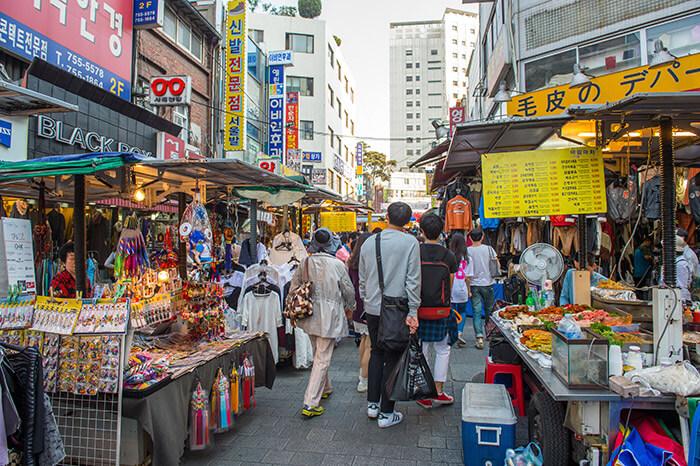 trip to Namdaemun Market in Seoul