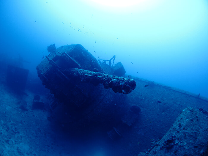 Diving the USS Emmons