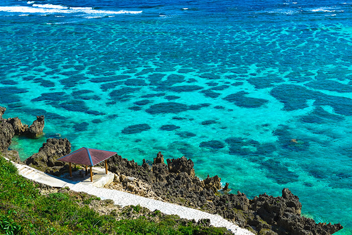 Japan Miyako Island in Okinawa